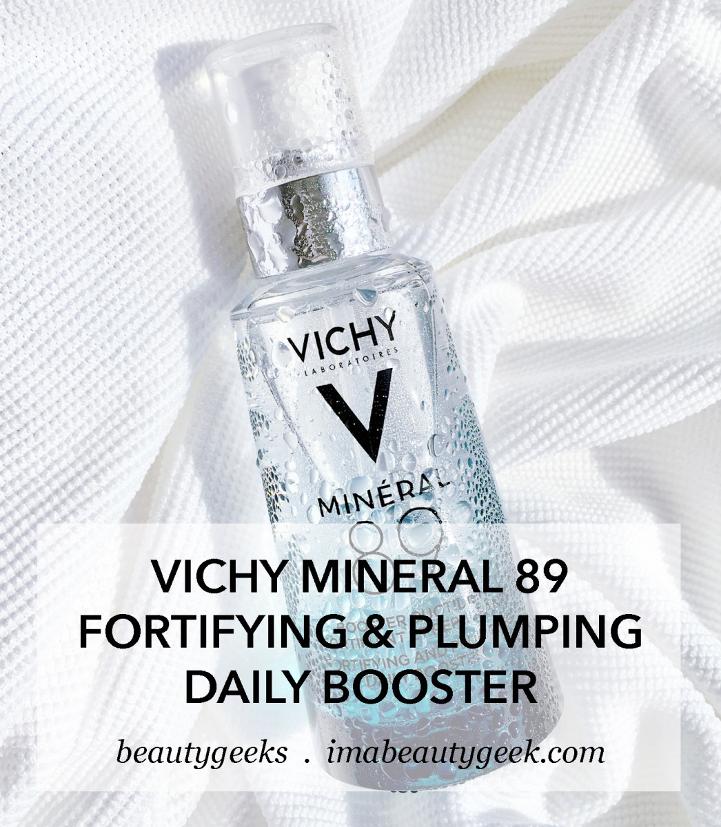 Vichy Mineral 89 Fortifying and Plumping Daily Booster thermal water and hyaluronic acid