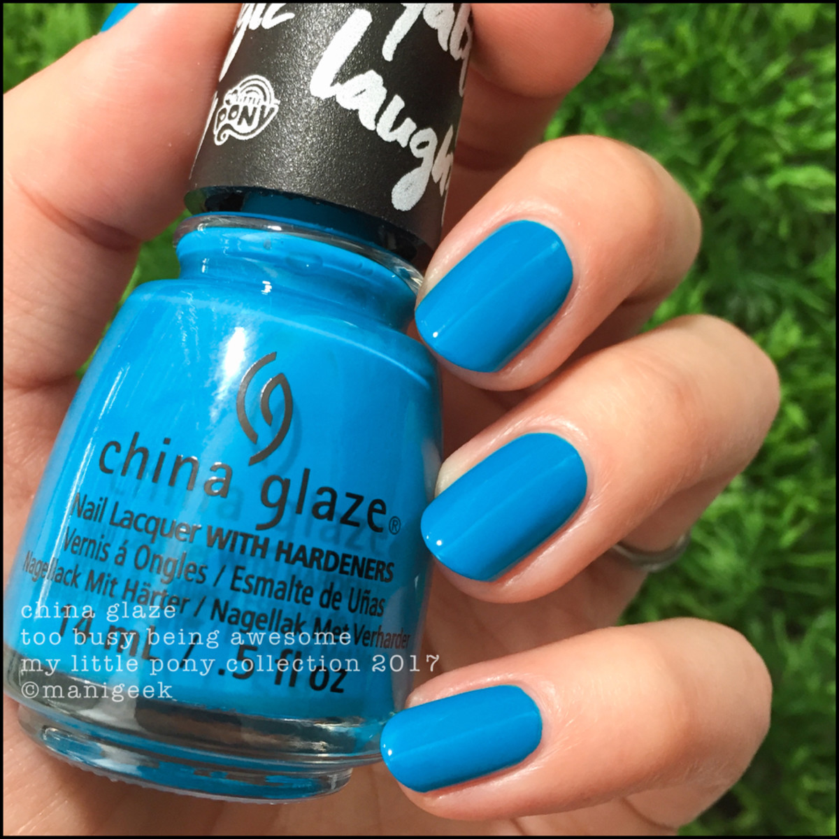 China Glaze Too Busy Being Awesome - My Little Pony Collection 2017