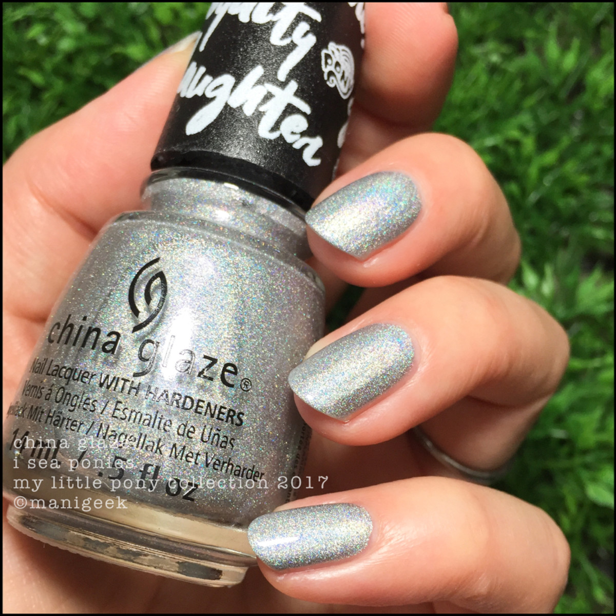 China Glaze I Sea Ponies - My Little Pony Collection 2017