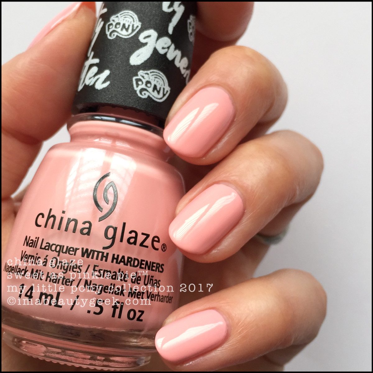 China Glaze Sweet as Pinkie Pie - My Little Pony Collection 2017