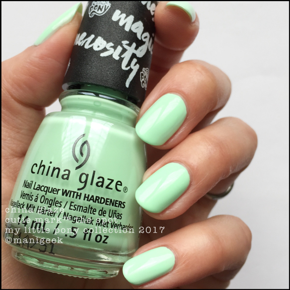 China Glaze Cutie Mark The Spot - My Little Pony Collection 2017