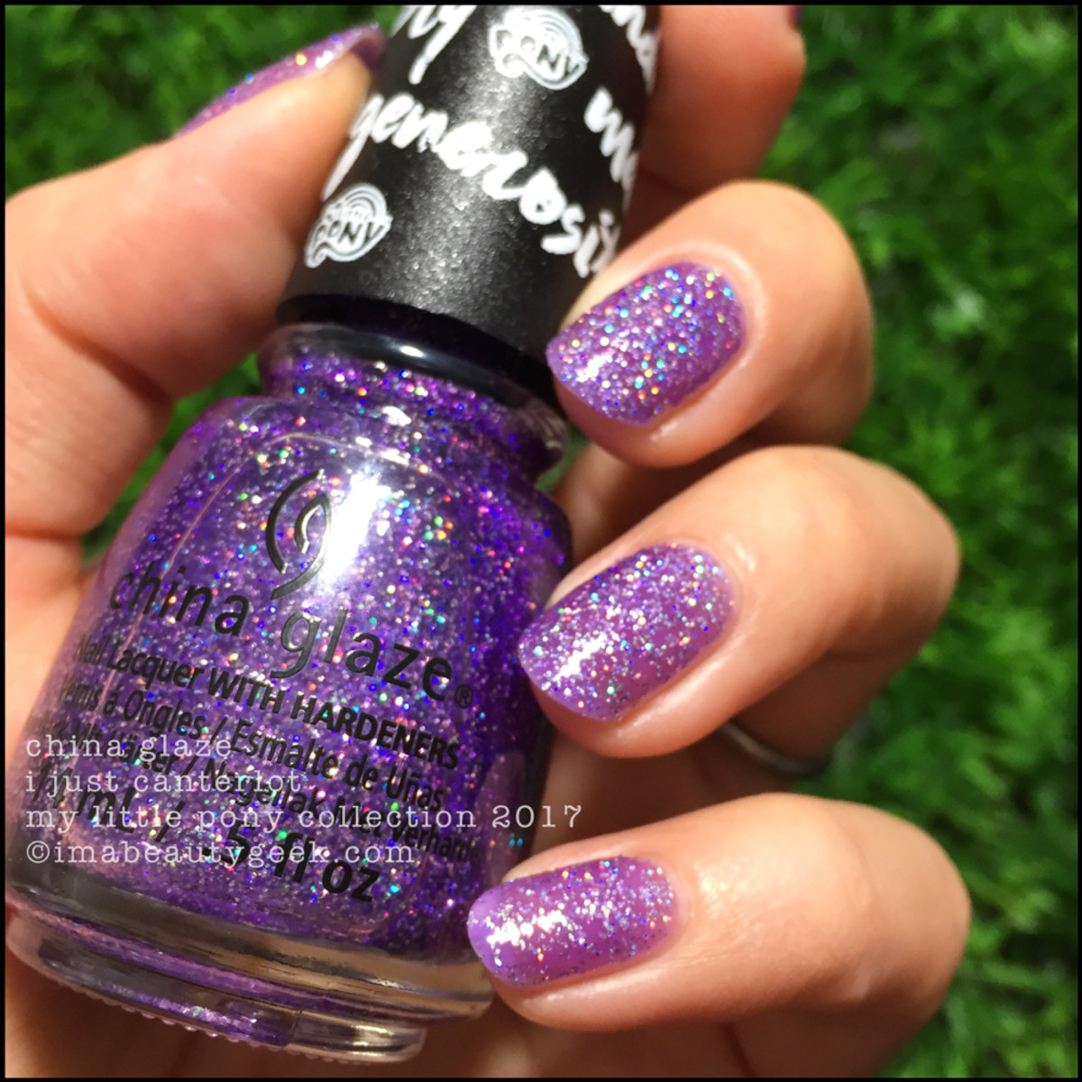 China Glaze I Just Canterlot (fuzzy) - My Little Pony Collection 2017