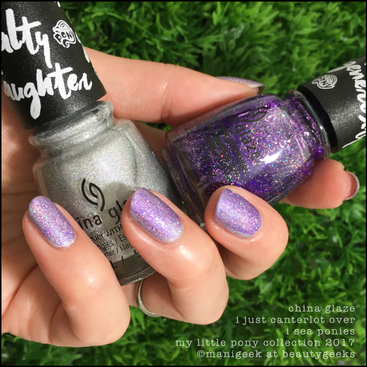 China Glaze I Just Canterlot over I Sea Ponies - My Little Pony Collection 2017