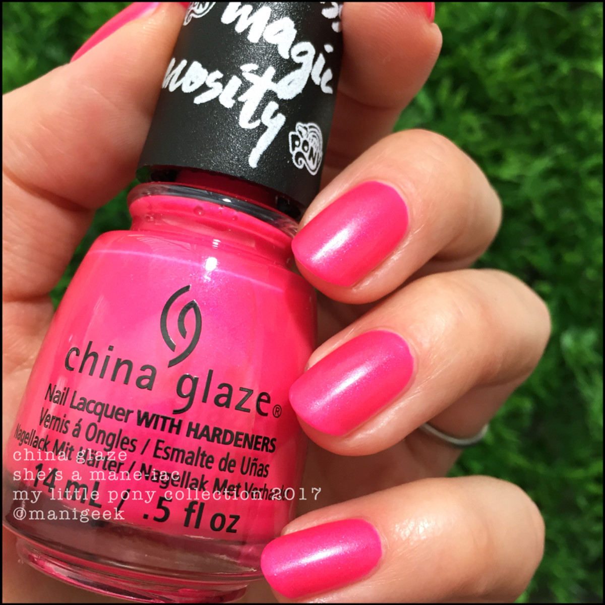 China Glaze She's a Mane-iac - My Little Pony Collection 2017