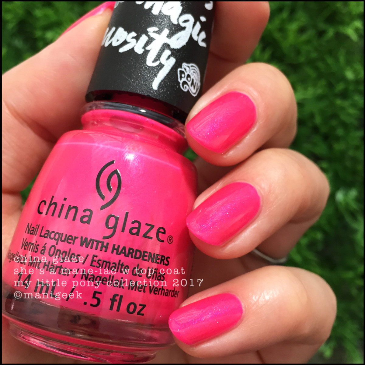 China Glaze Shes A Mane Iac W Top Coat