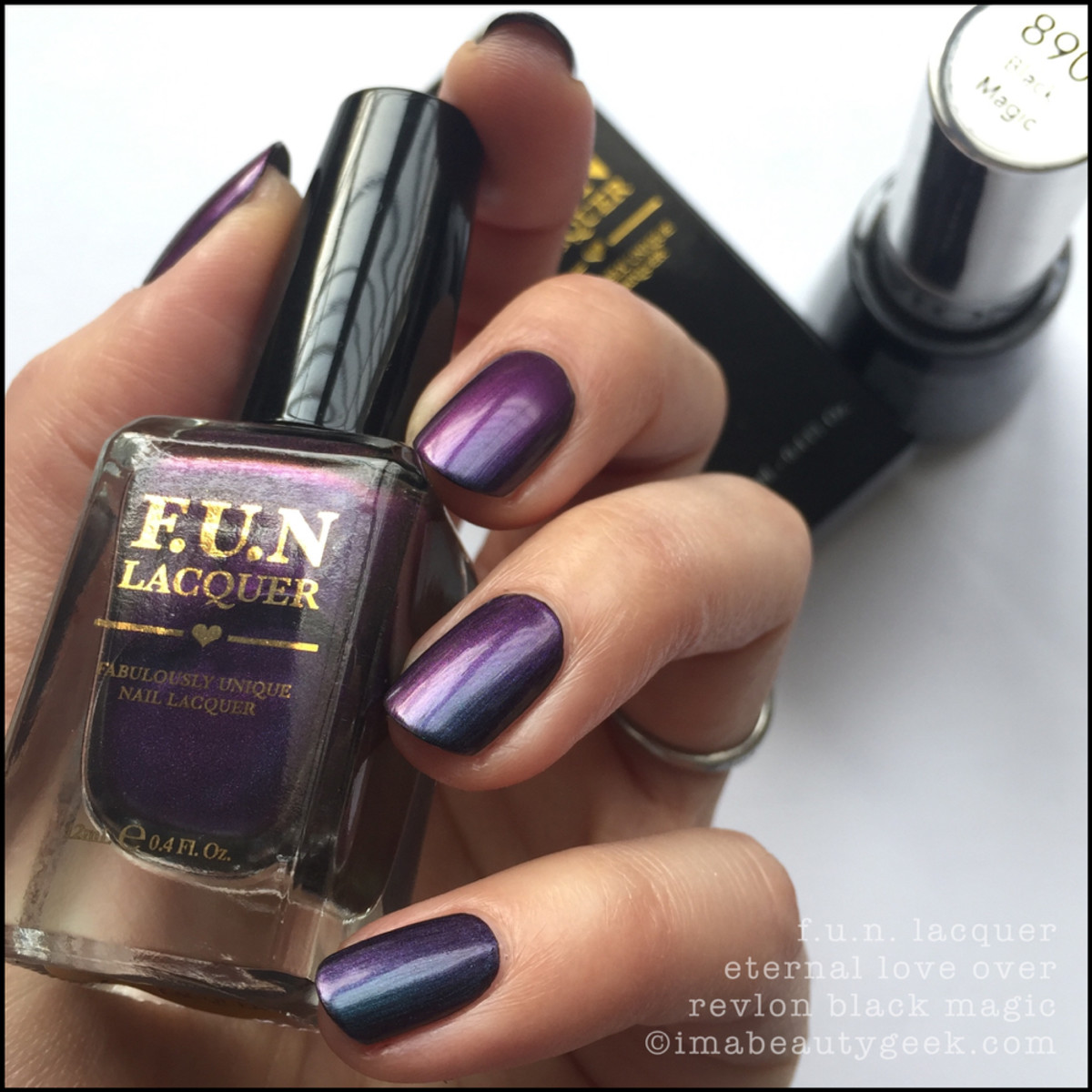 FUN Lacquer Eternal Love Swatches _5
