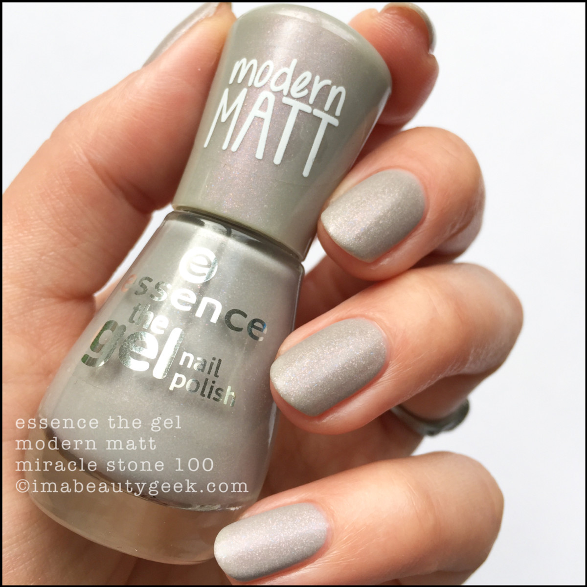 Essence Modern Matt Miracle Stone 100 Nail Polish