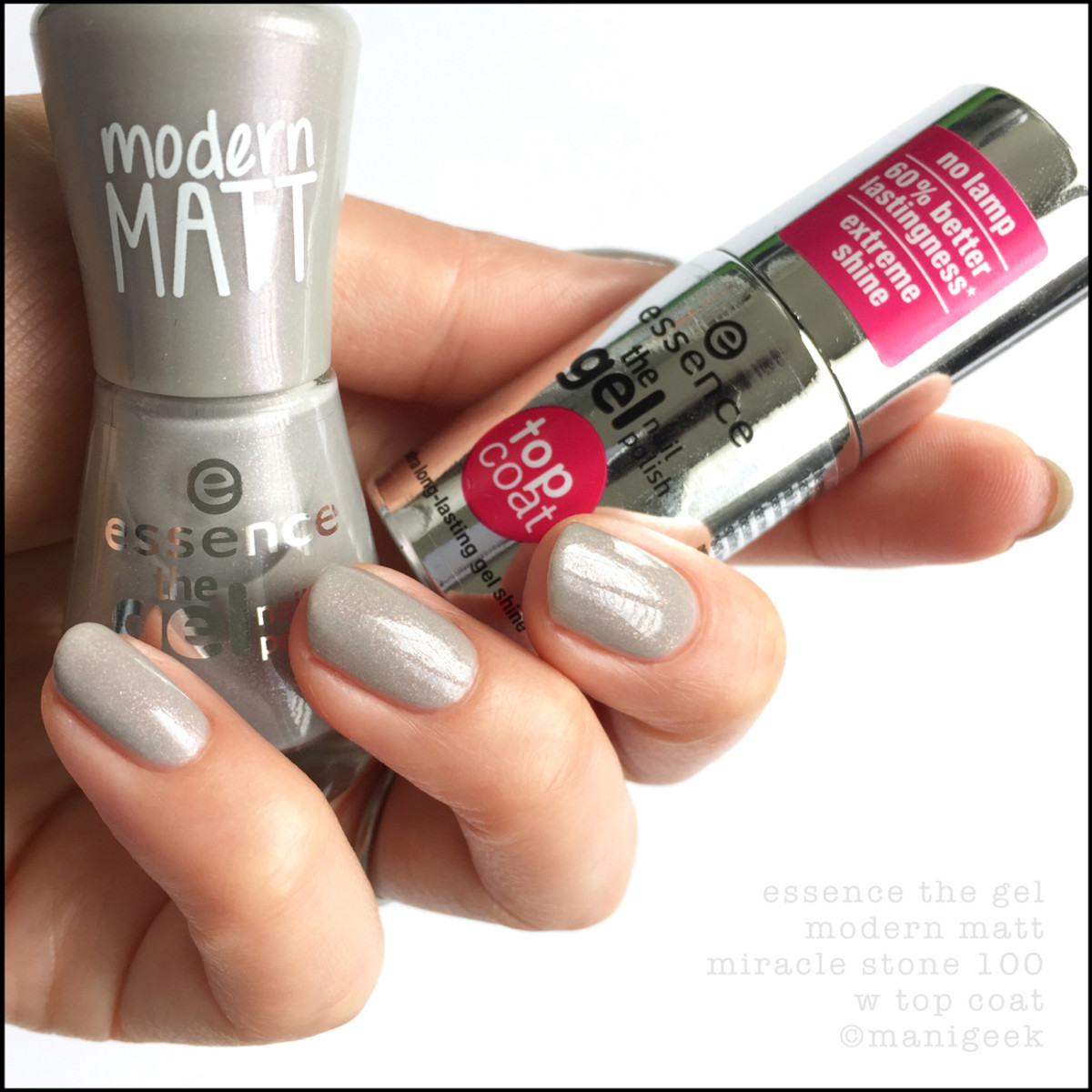 Essence Modern Matt Miracle Stone with Top Coat
