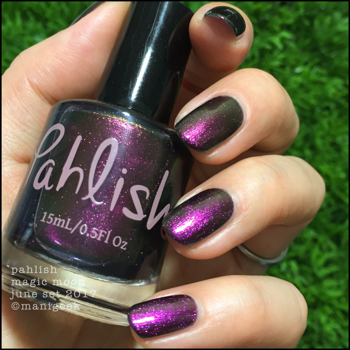 Pahlish Magic Moon Outdoors - Pahlish June 2017 Collection Swatches