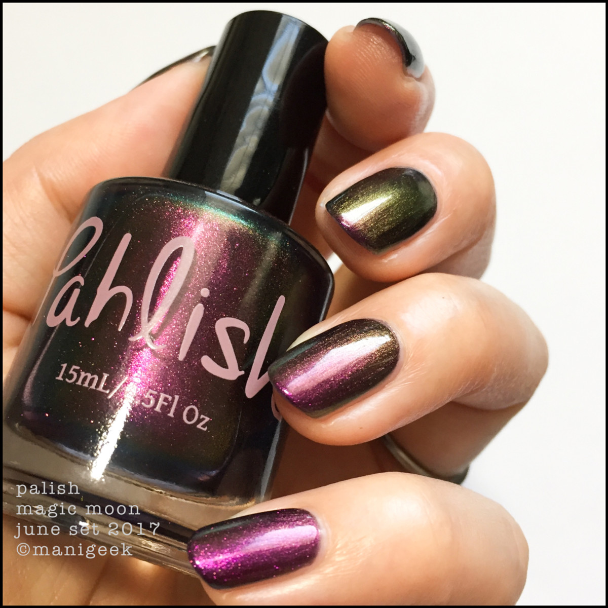 Pahlish Magic Moon Multichrome - Pahlish June 2017 Collection Swatches