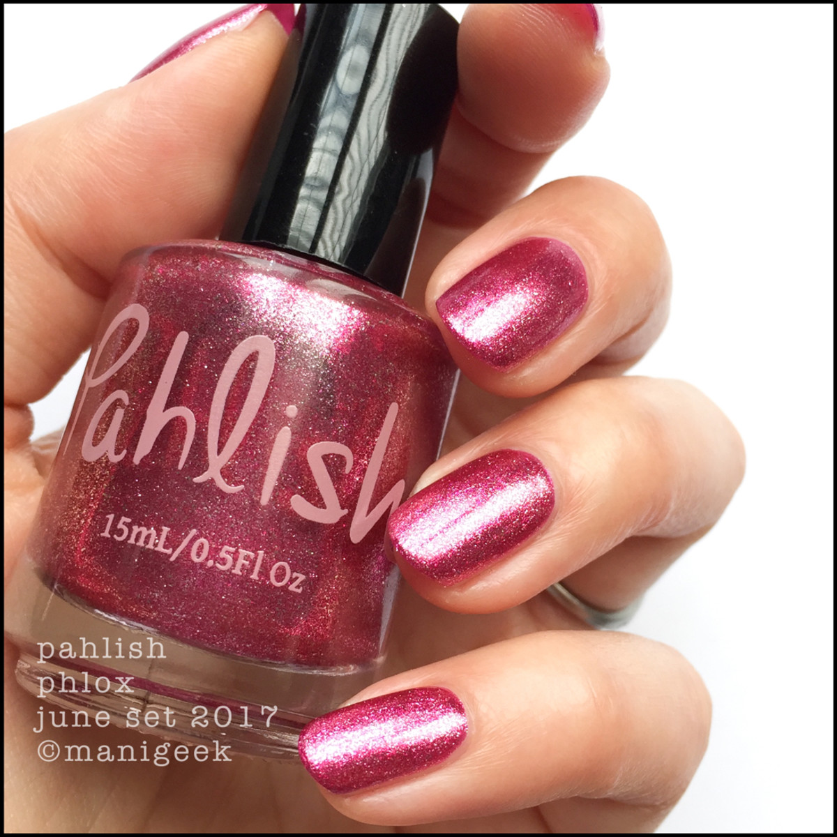 Pahlish Phlox - Pahlish June 2017 Collection Swatches