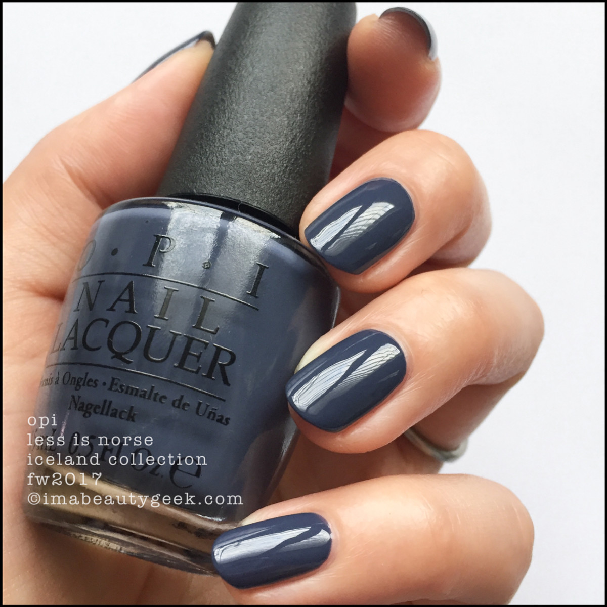 OPI Less is Norse - OPI Iceland 2017