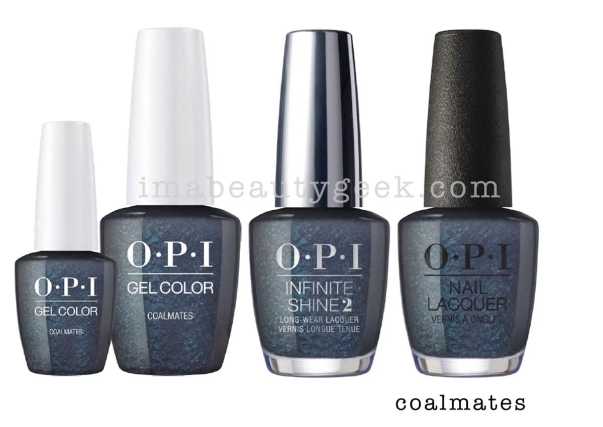 OPI Coalmates - OPI Holiday 2017 PromoShot