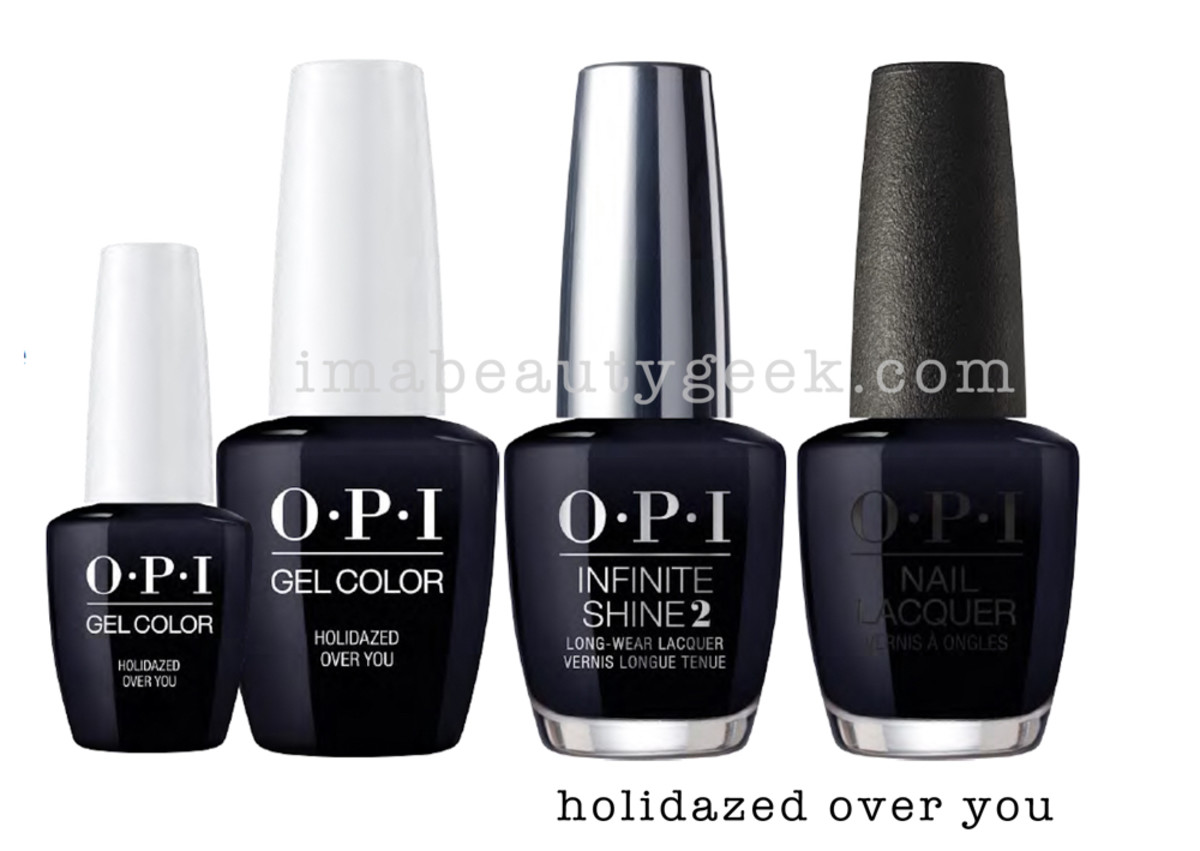 OPI Holidazed Over You - OPI Holiday 2017 PromoShot