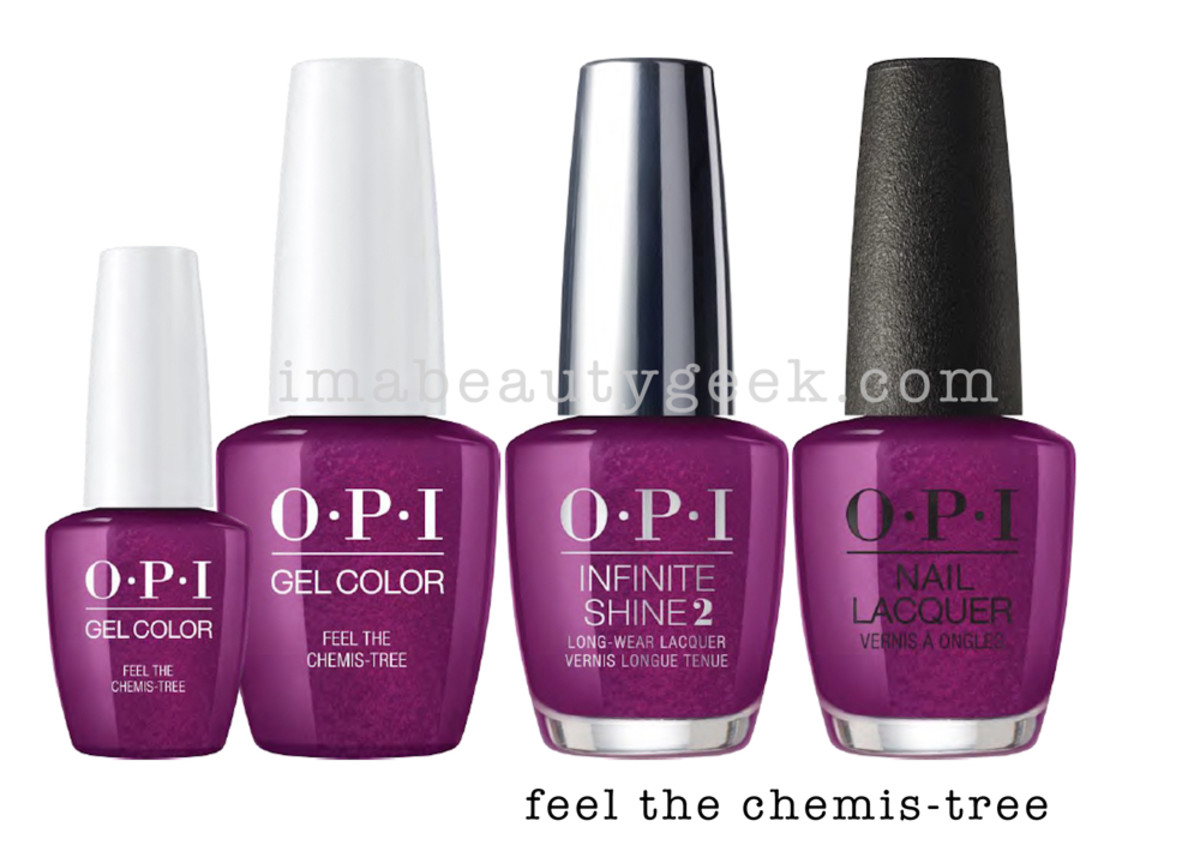 OPI Feel The Chemis-tree - OPI Holiday 2017 PromoShot