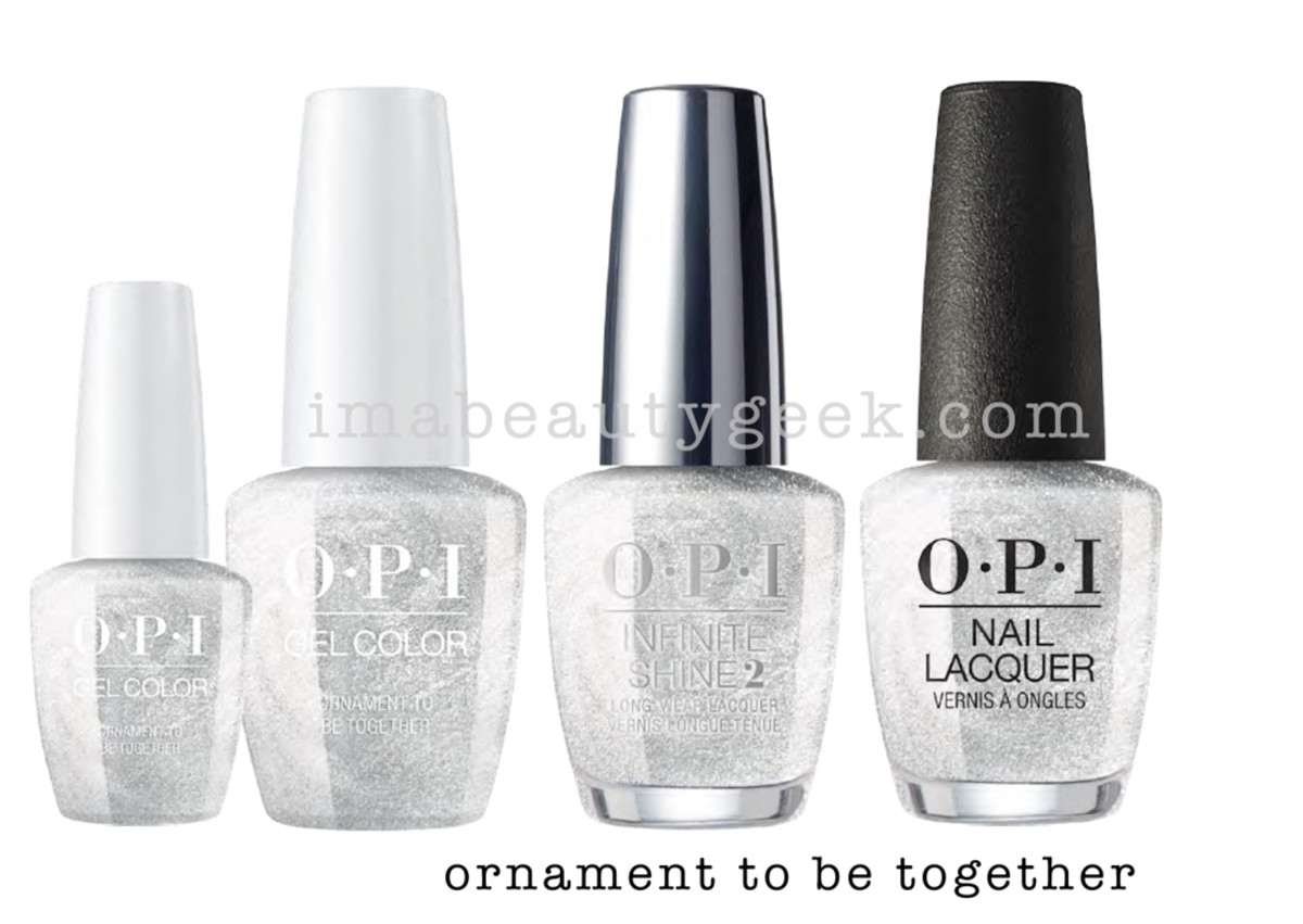 OPI Ornament To Be - OPI Holiday 2017 PromoShot