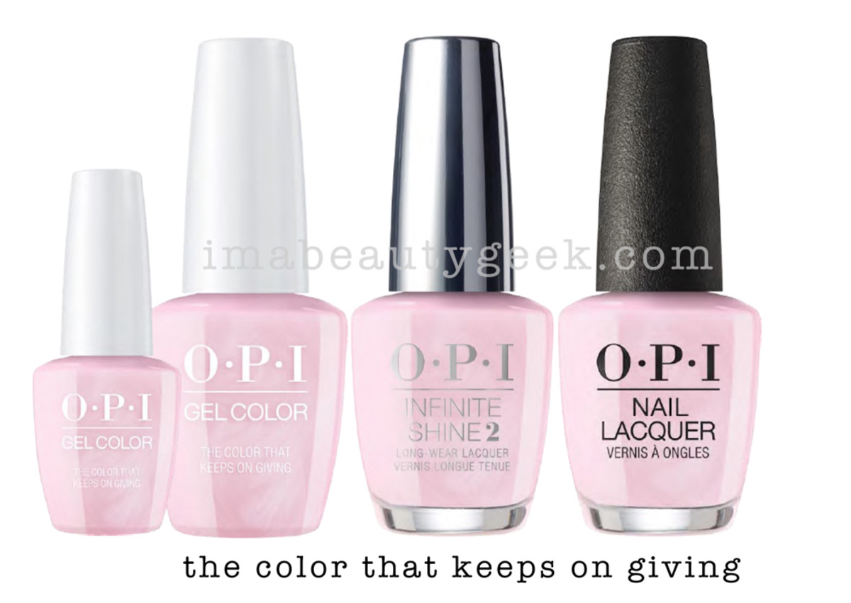 OPI HOLIDAY 2017 COLLECTION PROMO SHOTS - Beautygeeks