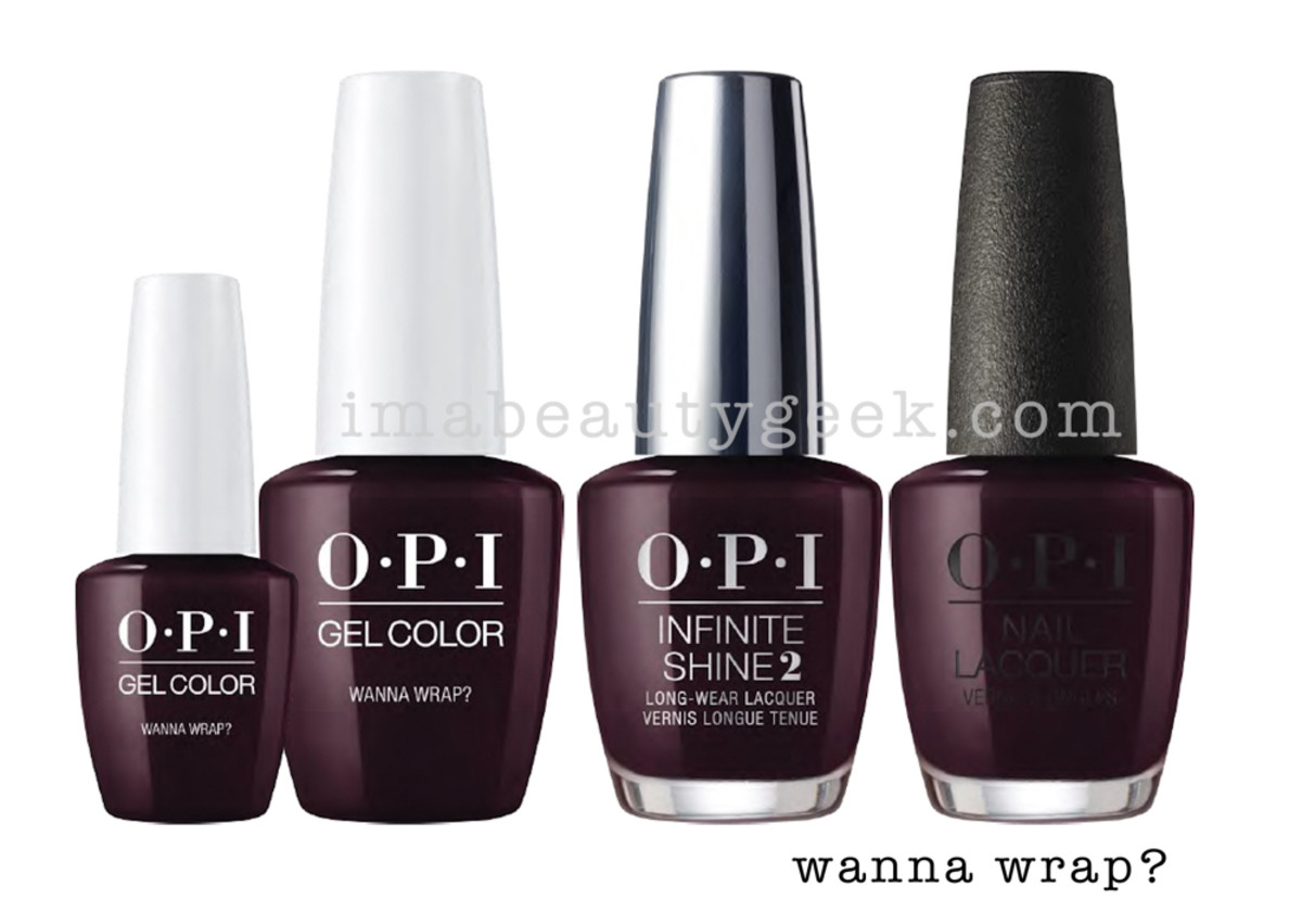 OPI Wanna Wrap - OPI Holiday 2017 PromoShot