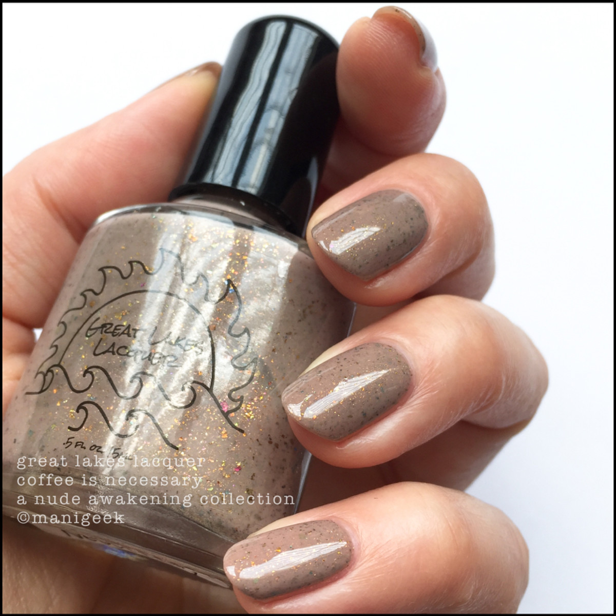 Great Lakes Lacquer Coffee is Necessary_Great Lakes Swatches IEC 2017