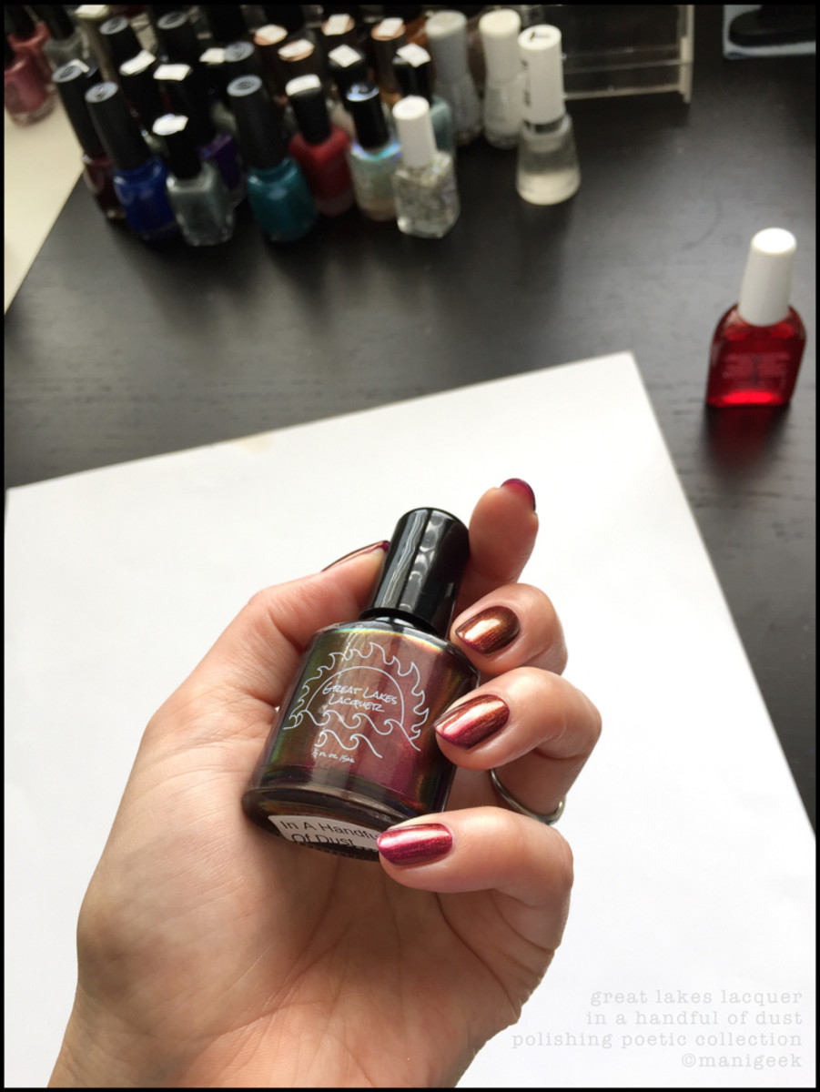 Great Lakes Lacquer In a Handful of Dust_How Manigeek Shoots Polish