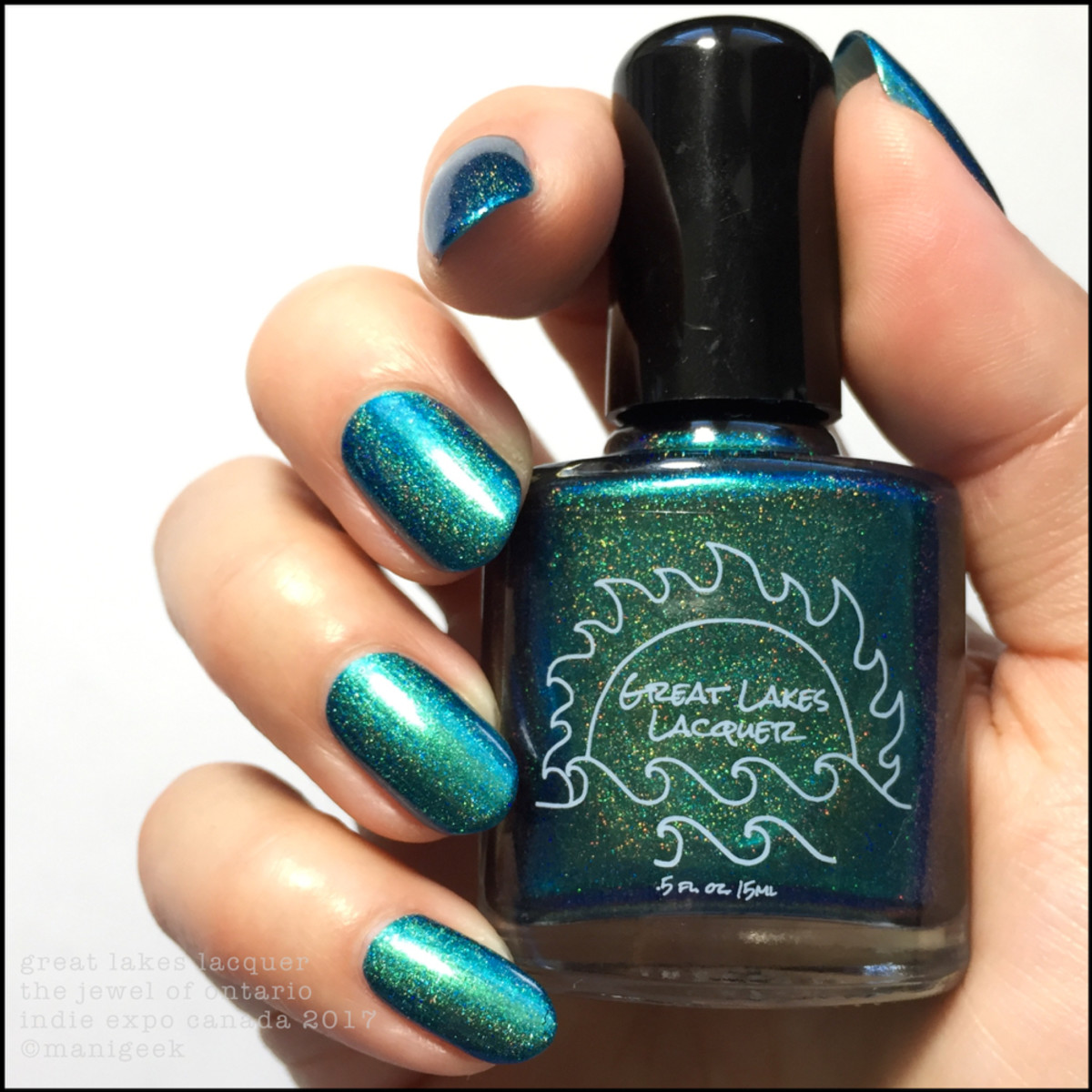 Great Lakes Lacquer The Jewel of Ontario_limited edition Indie Expo Canada 2017