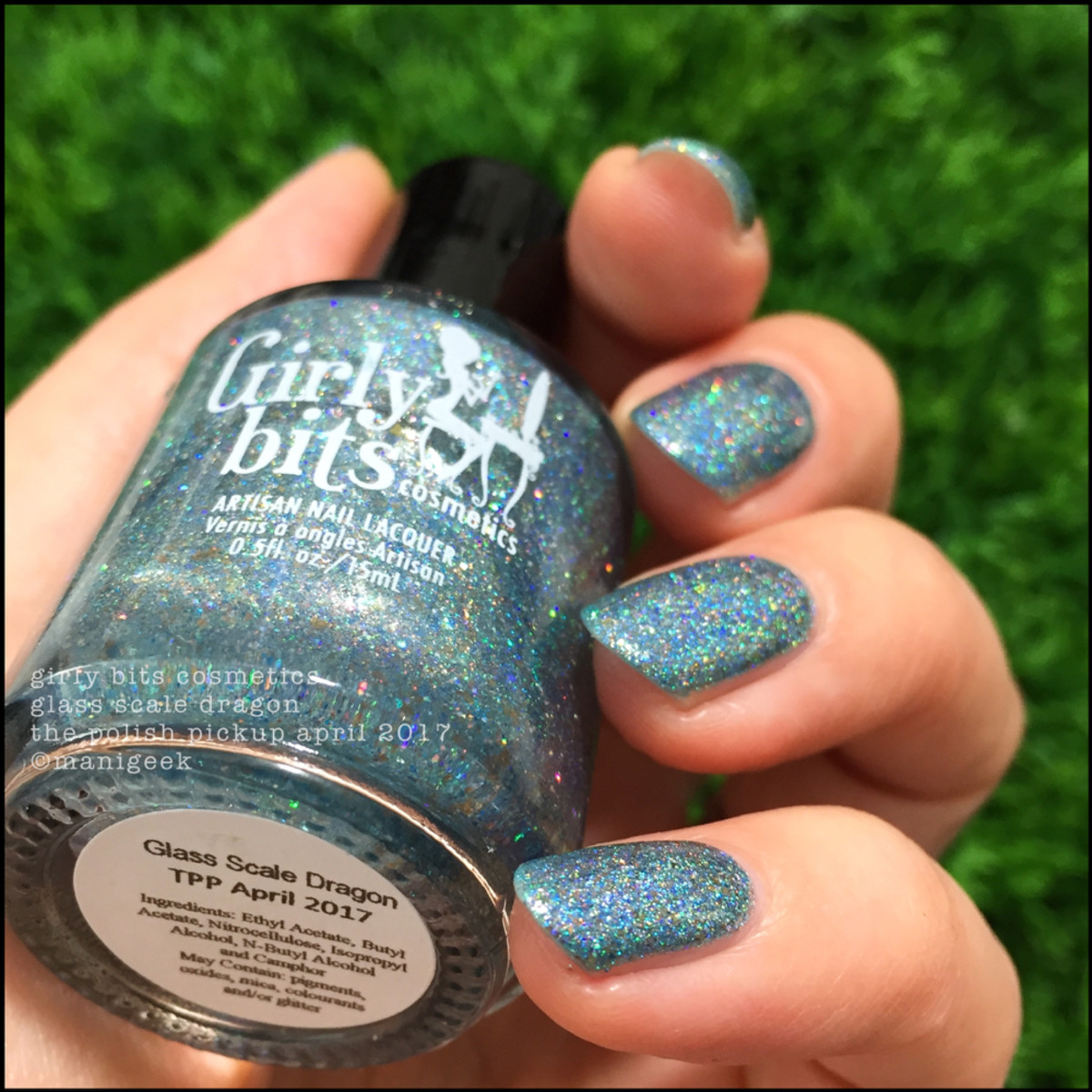Girly Bits Glass Scale Dragon Polish Pickup - 1000 Days of Untrieds