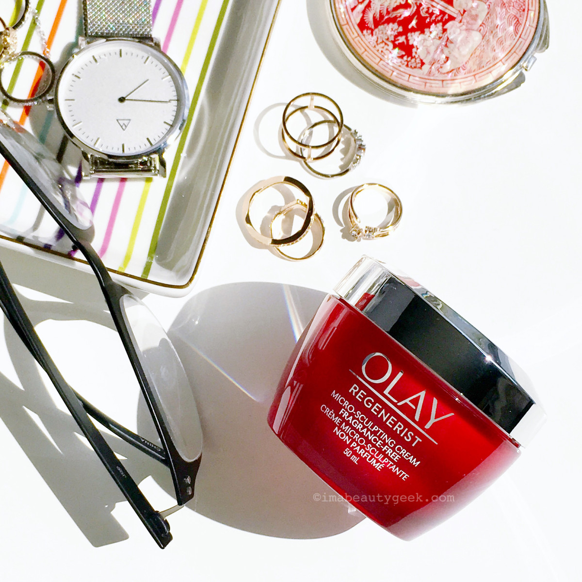 Olay Regenerist Micro-Sculpting Cream (fragrance-free version)