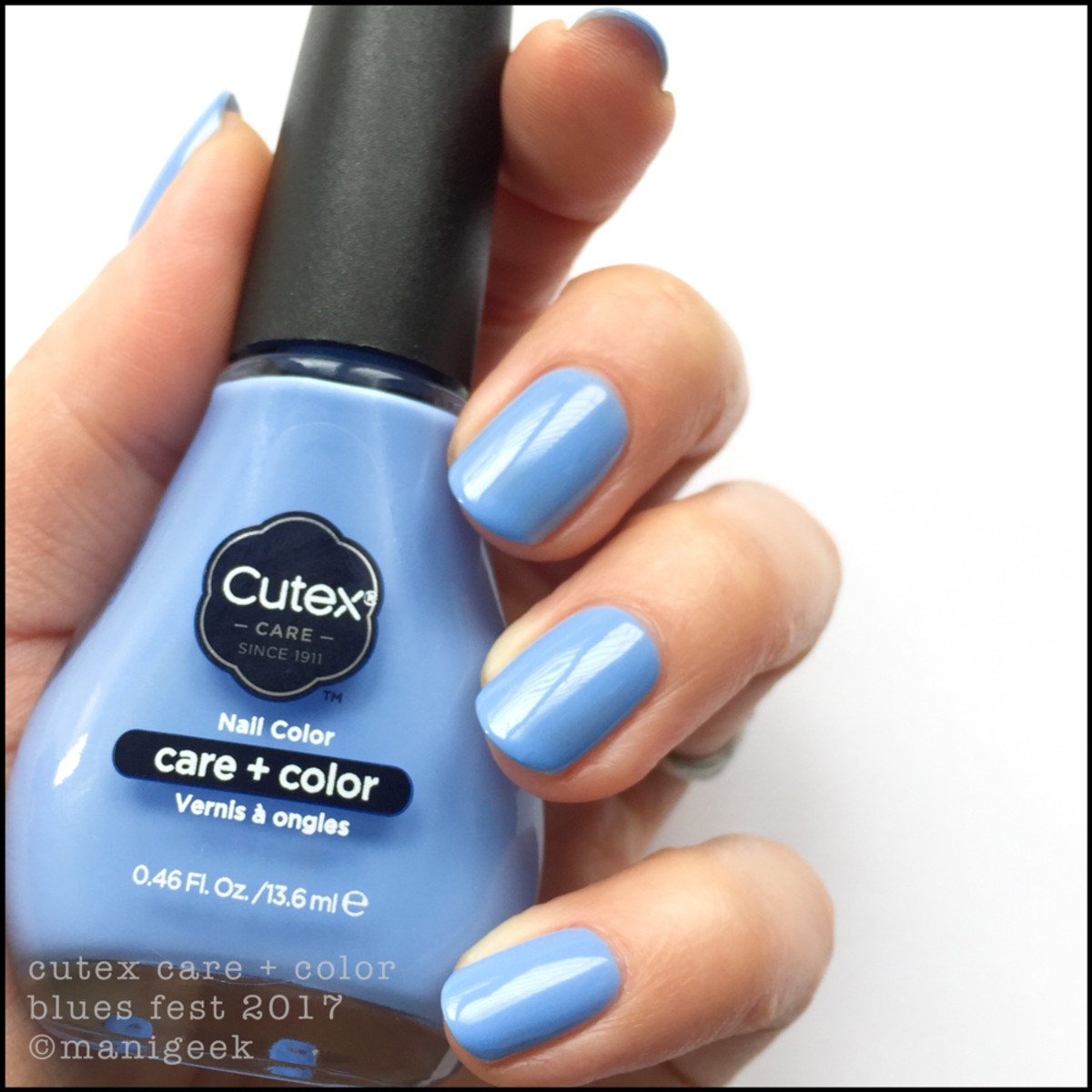 Cutex Blues Fest - Cutex 2017 Swatches Review