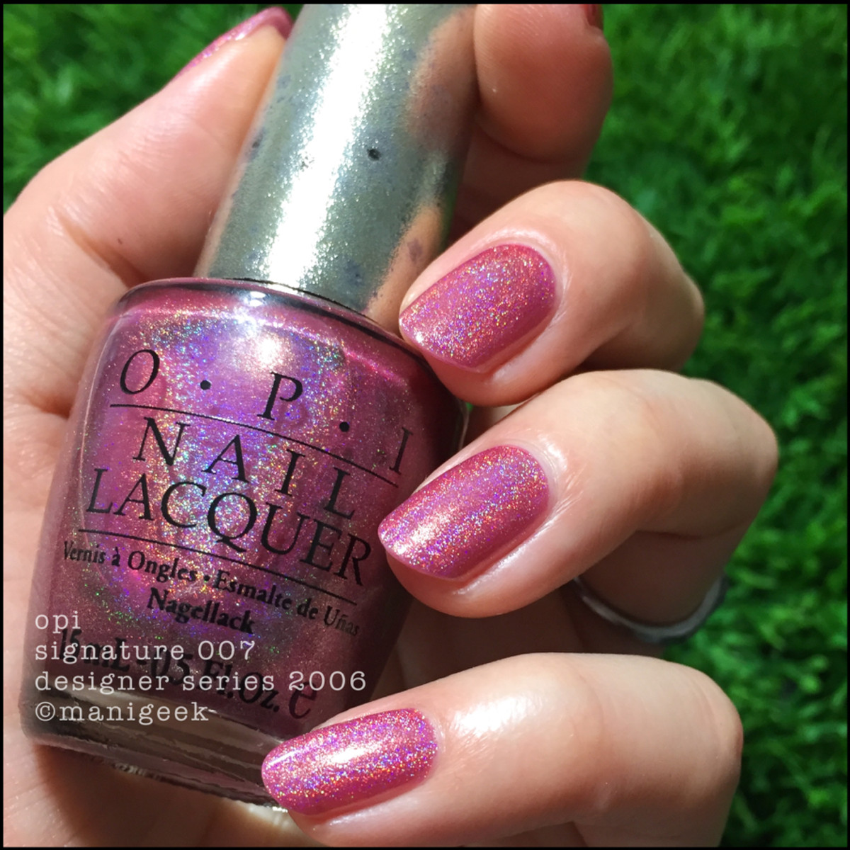 OPI DS Signature 007 outside _ Manigeek 1000 Days of Untrieds