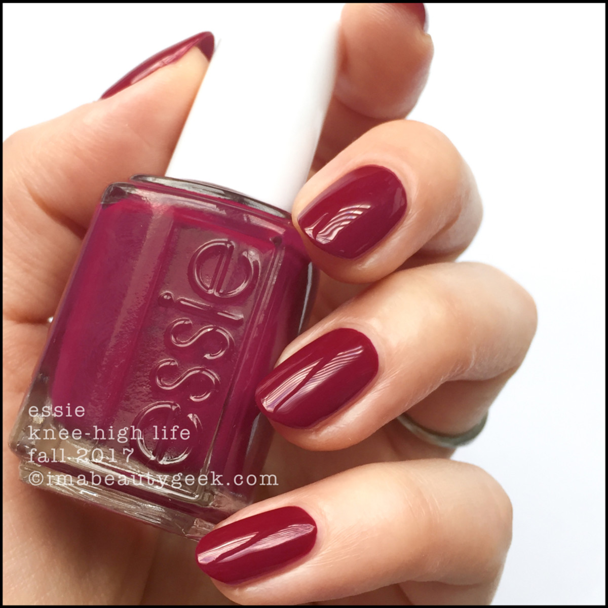 Essie Knee-High Life - Essie Fall 2017 Collection Swatches Review
