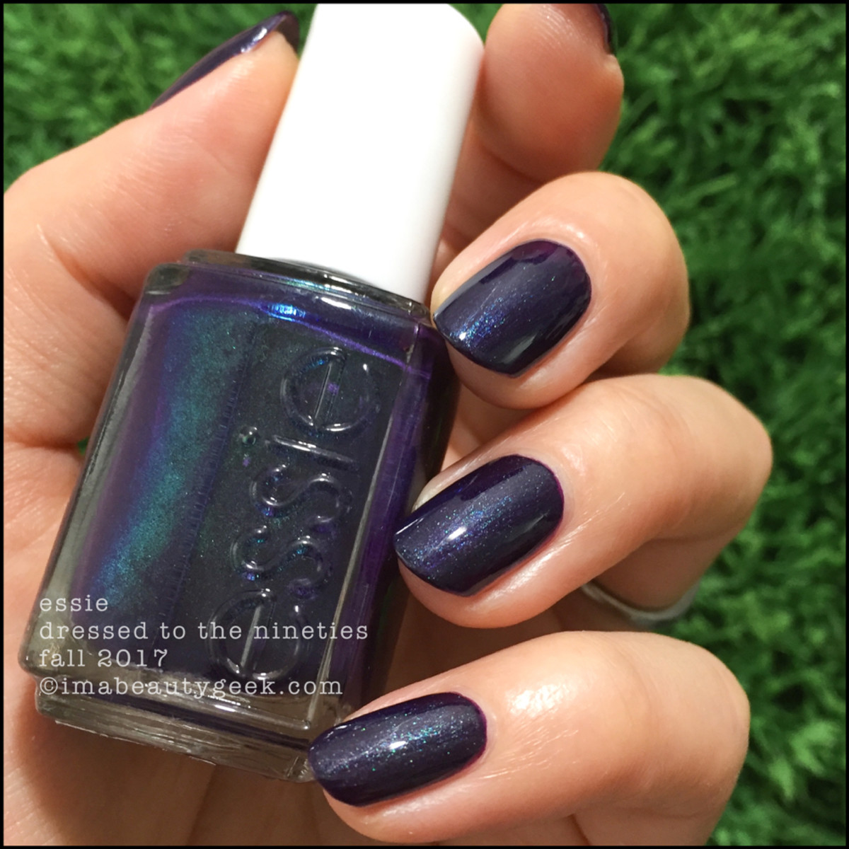 Essie Dressed to the Nineties outside - Essie Fall 2017 Collection Swatches Review