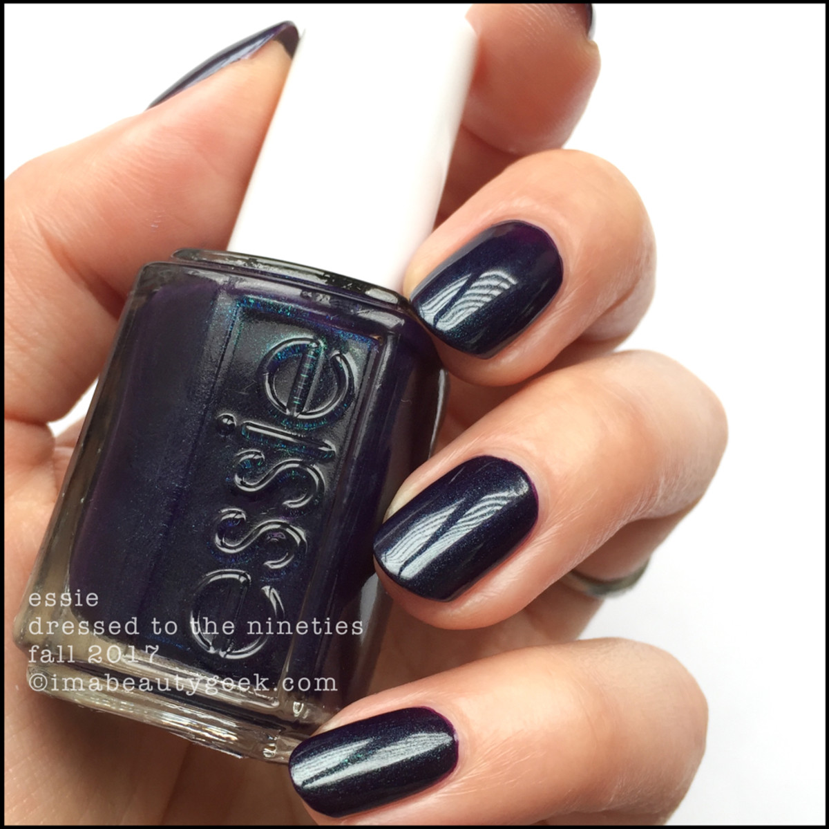 Essie Dressed to the Nineties - Essie Fall 2017 Collection Swatches Review