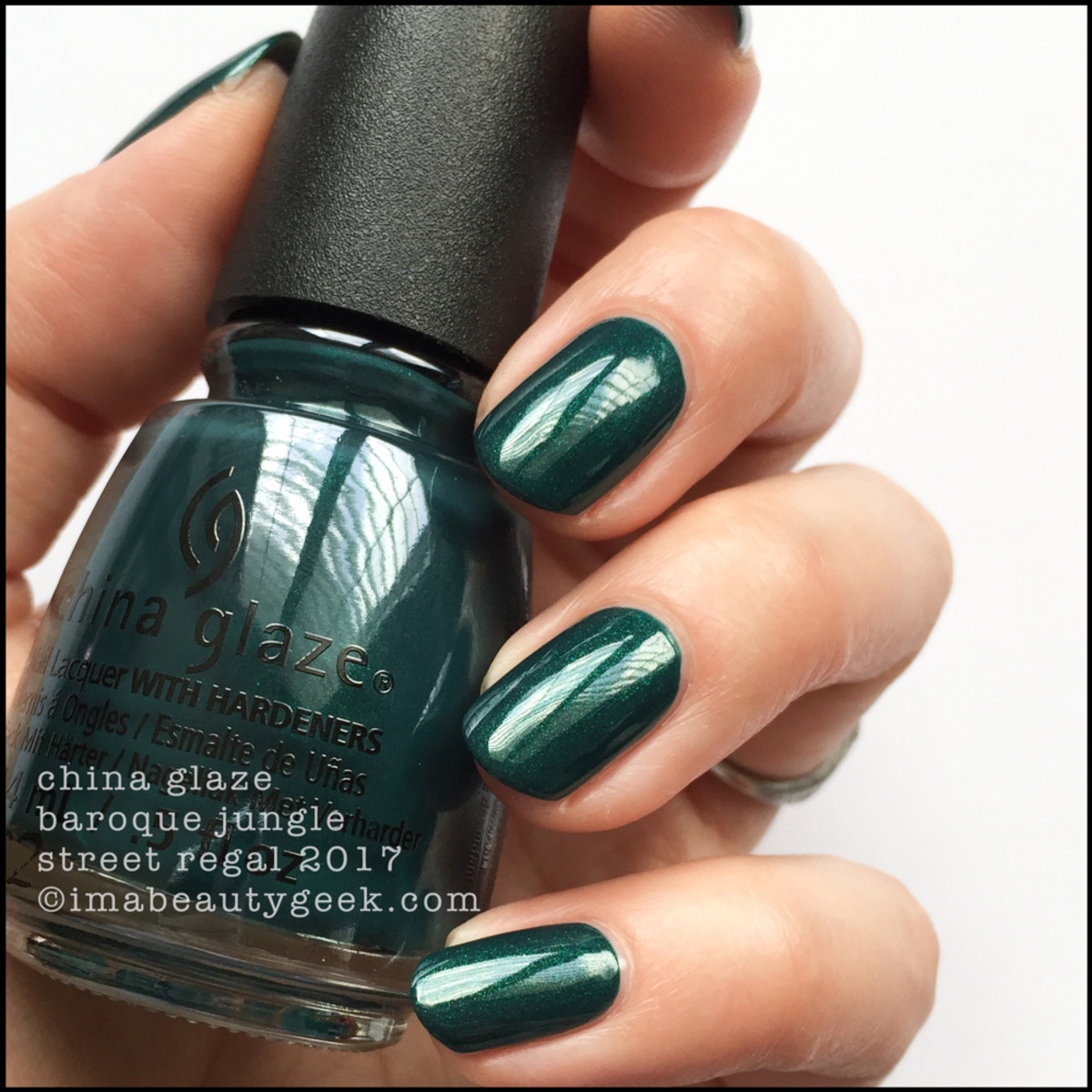 China Glaze Baroque Jungle - Street Regal Collection Fall 2017