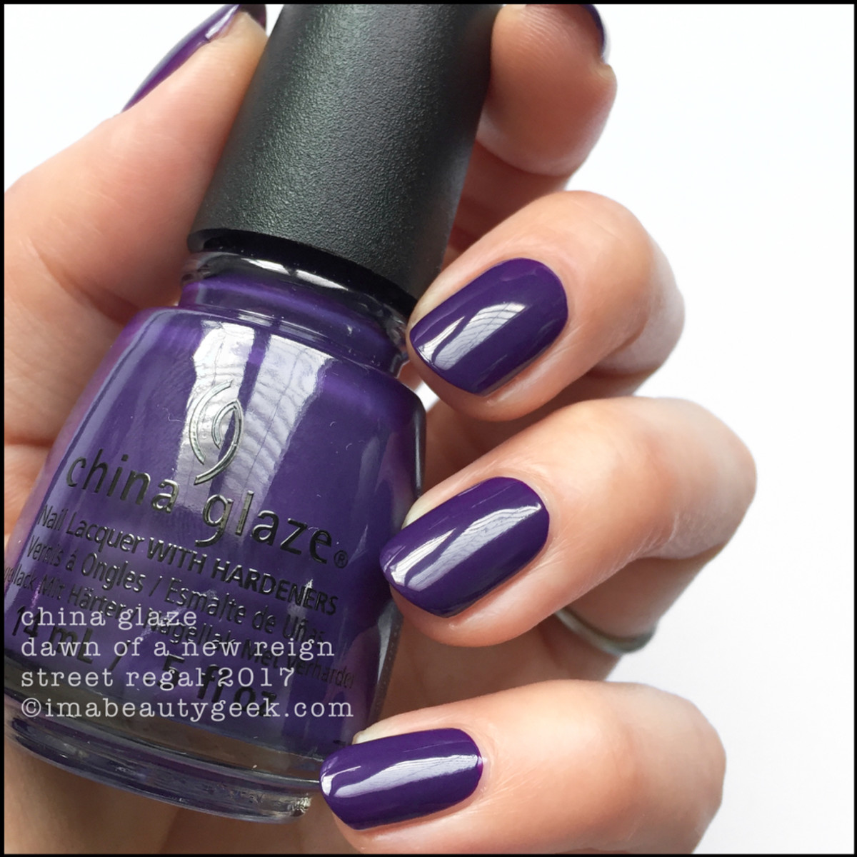 China Glaze Dawn of a New Reign - Street Regal Collection Fall 2017