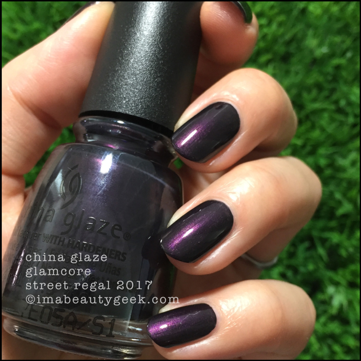 China Glaze Glamcore outside - Street Regal Collection Fall 2017