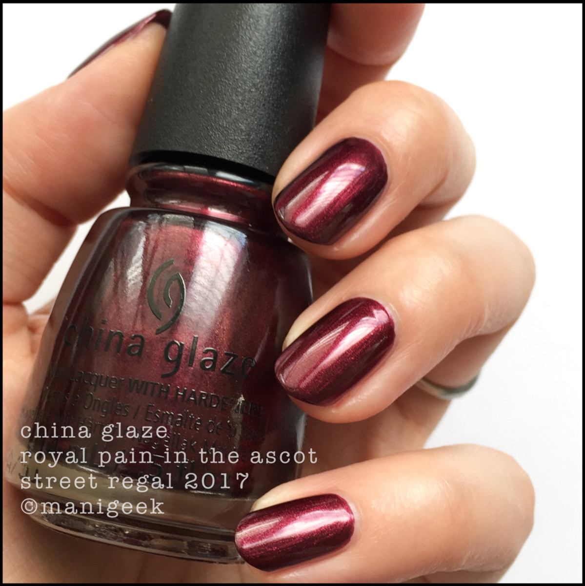 China Glaze Royal Pain in the Ascot - Street Regal Collection Fall 2017