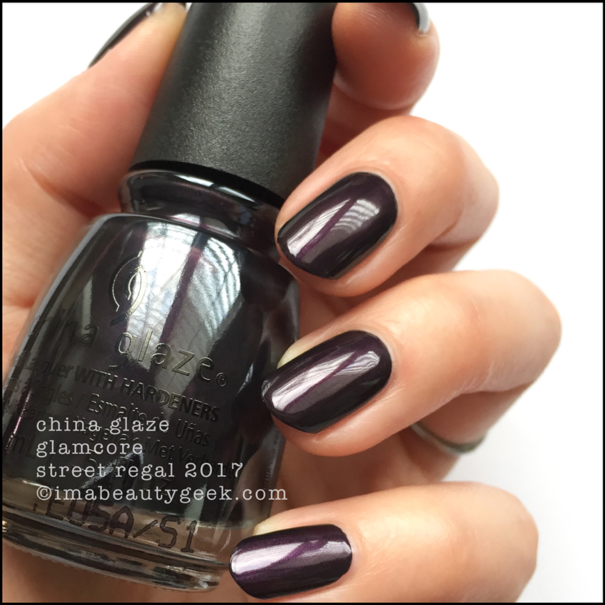 China Glaze Glamcore - Street Regal Collection Fall 2017