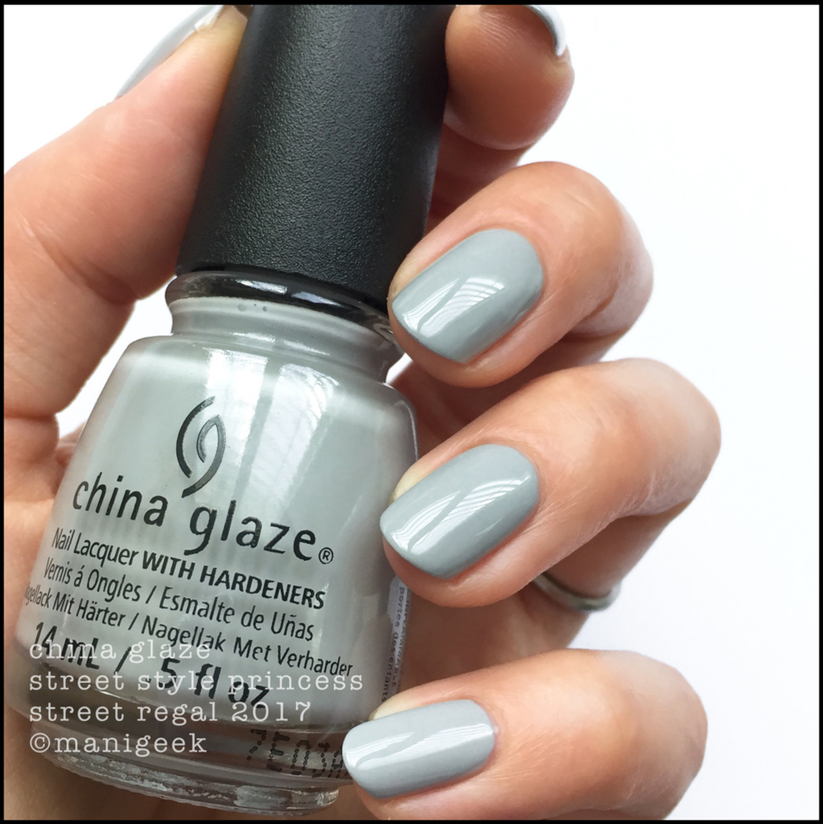 China Glaze Street Style Princess - Street Regal Collection Fall 2017