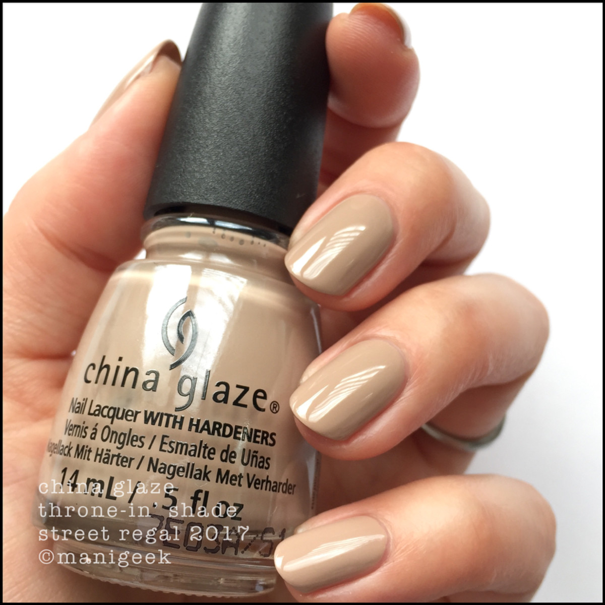 China Glaze Throne-in' Shade - Street Regal Collection Fall 2017