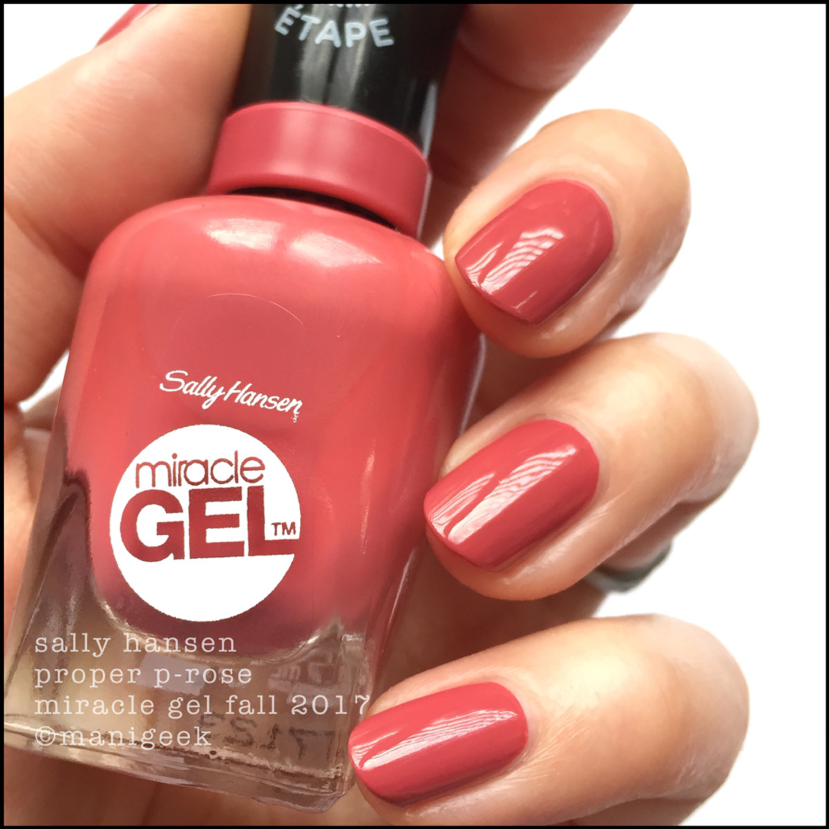 Sally Hansen Proper Prose Miracle Gel _ Manigeek 1000 Days of Untrieds Week 3