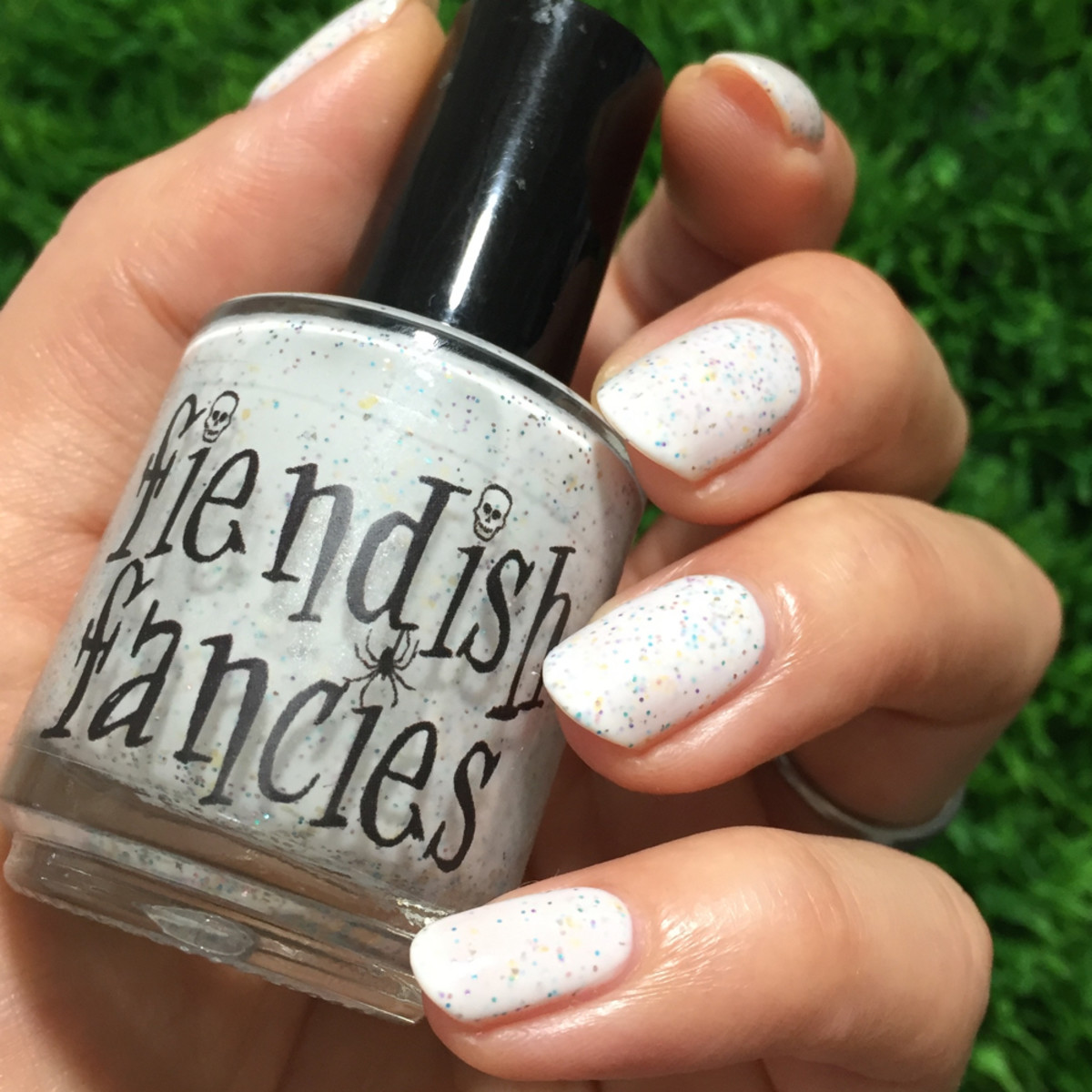 Fiendish Fancies The Unicorn w Salad _ 1000 Days of Untried Nail Polish Week 4