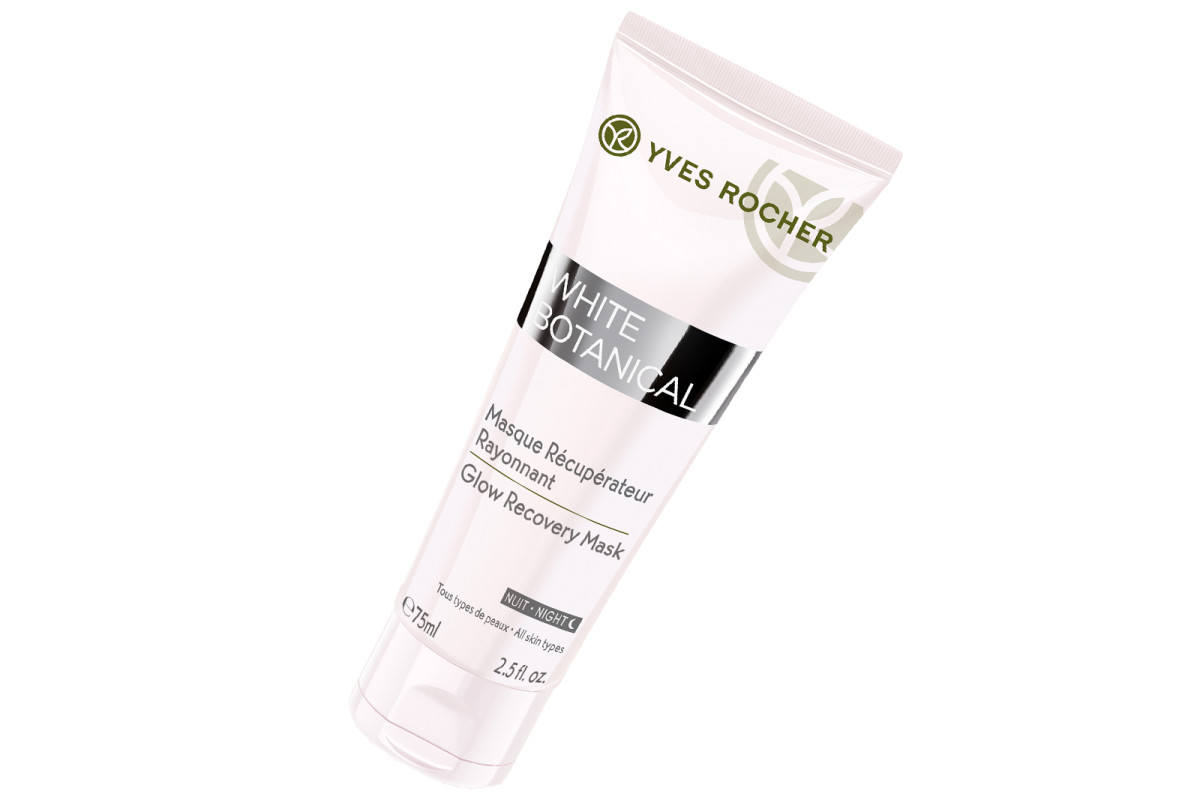 Yves Rocher White Botanical Glow Sleeping Mask