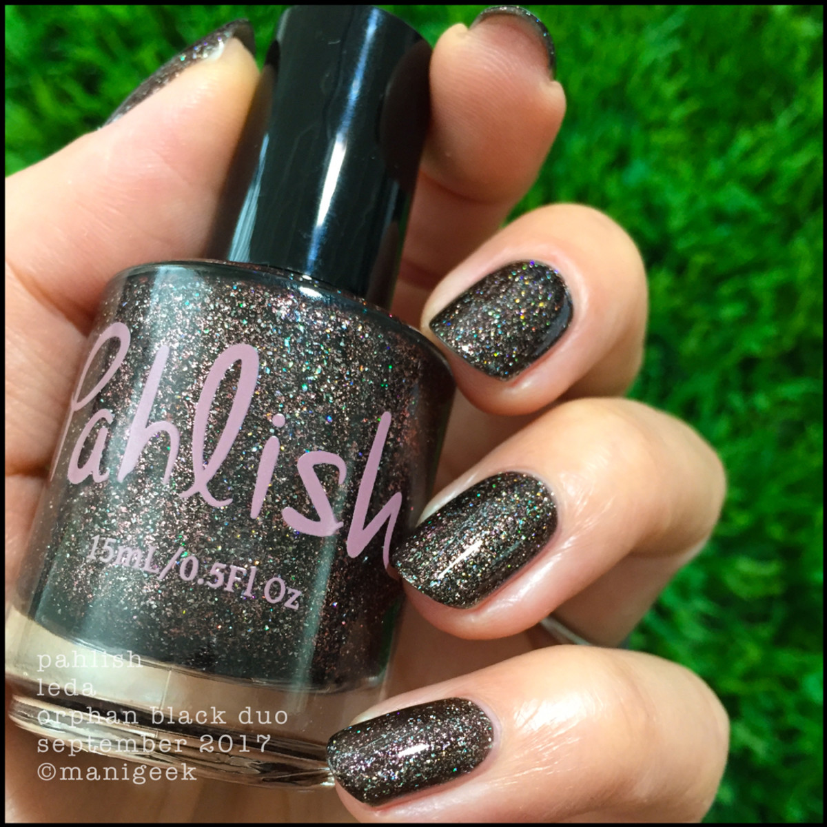 Pahlish Leda Orphan Black Swatches 2 _ Pahlish September 2017 Release Swatches Manigeek