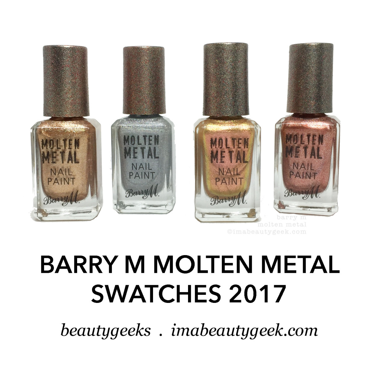 Barry M Molten Metal Swatches 2017 LP_title image