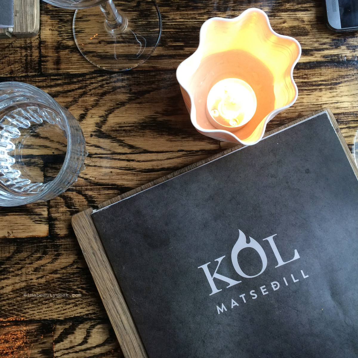 Kol Restaurant in Reykjavik