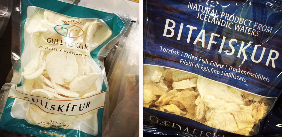 Iceland_dried fish fillet snacks