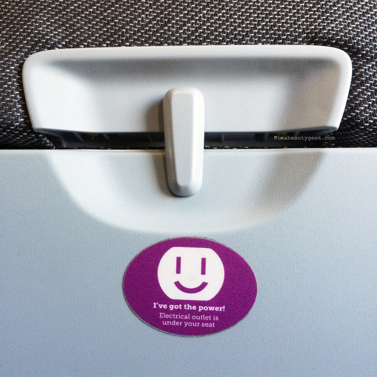 Keep your charging cables handy; you can plug in at your Wow Air seat!