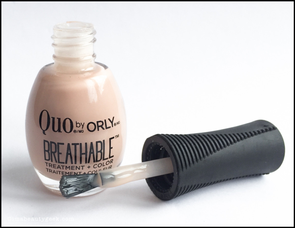 Quo by Orly Breathable Nail Polish Treatment and Color Brushes