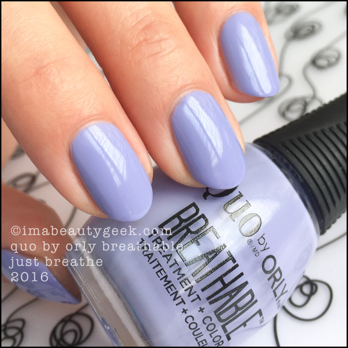 Orly Breathable Nail Polish Swatches Review_Quo by Orly Breathable Just Breathe
