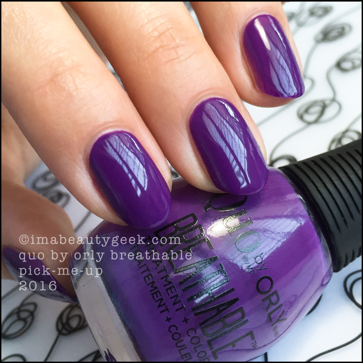 Orly Breathable Nail Polish_Quo by Orly Breathable Pick Me Up